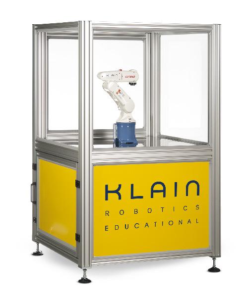 Cella robotica DENSO per le scuole